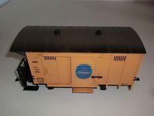 Lehmann LGB Eisenbahn 4033 Lok Chiquita Bananenwagen Spur G gelb