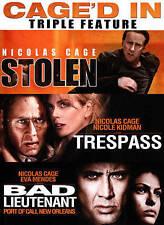 Nicolas Cage Triple Feature: Stolen/Trespass/The Bad Lieutenant DVD, 2-Disc 2015
