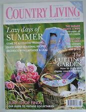 Country Living Magazine. June, 2004. Issue No. 222. The Cutting Garden. JunkShop