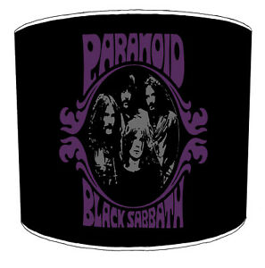 Lampshades, Ideal To Match Black Sabbath Ozzy Osbourne Decorative Quilt Covers