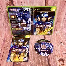 Xbox Game Tom Clancys Rainbow Six 3 original counter terrorism force Team action