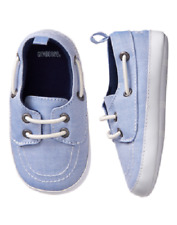 9387533d2aac Gymboree Spring Dressy Blue Crib Boat Shoes 3-6 Months Infant Baby Boy Size  2
