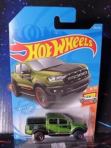 2021 Hot Wheels #236 Green '19 Ford Ranger Raptor. Nice Brand New Package