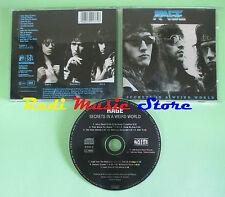 CD RAGE Secrets in a weird world 1989 NOISE N 0137-2 (Xs3) no lp mc dvd