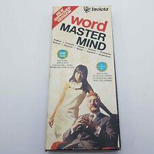 Wort Master Mind Spiel (1975) Invicta Vintage Logik & Strategie Spiel