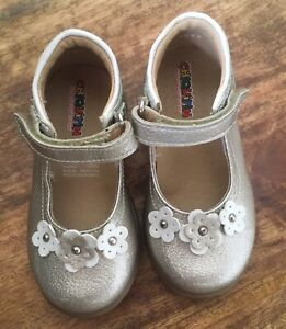 Chiquitin Girls Shoes Dressy Glitter Size 21(US 5) Toddler