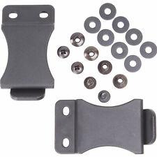 """Fomi Kydex Belt Holster Quick Clip 2 or 10 pcs 1.5"""" 1.75"""" Hardware Diy Overhook"""