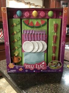 "My Life As Picnic Table Play Set- Perfect for Summer For 18"" Dolls FUN NEW"