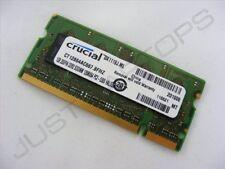 Crucial 1GB CT12864AC667.8FHZ 667MHz PC2-5300 DDR2 Memoria para Portátil Ram