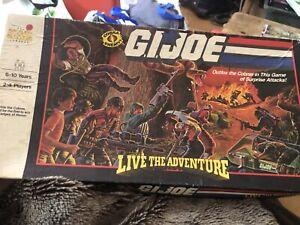 1986 G.I. Joe - Live The Adventure Vintage Board Game 100% Complete