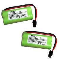 Pack de 2 HQRP Téléphone Sans-Fil Piles pour Uniden D1660 D1680 D1685 D1688