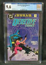 Detective Comics Annual #1 (1988) DC Batman Klaus Janson Cover CGC 9.6 H472