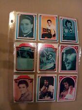 1978 Complete Set Of Elvis Bubble Gum Cards Boxcar Set Of 66
