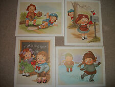 "4 Vintage Cambell's Soup 8"" X 10"" Prints BRAND NEW, original mailing envelope."