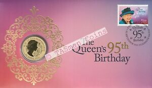 PNC Australia 2021 The Queen's 95th Birthday Perth Mint $1 Commemorative Coin