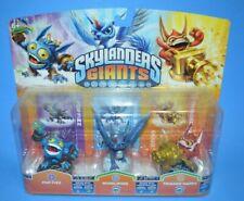 2012 Skylanders Giants POP FIZZ WHIRLWIND TRIGGER HAPPY Video Game Figure MOC