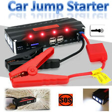 80000mAh 4USB Emergency Car Jump Starter Battery Charger 12V Power Bank Booster
