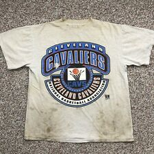 Vintage 90's Cleveland Cavaliers T-shirt L NBA basketball Logo 7 Throwback Logo