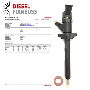 Injecteur 1,6 Hdi Citroen Peugeot Volvo Buse d'injection 0445110188 80KW 109PS