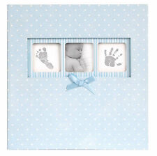 Innova 50-page Baby Boy Blue Polka Dot Book Bound Traditional Album 200 6x4