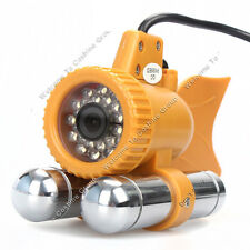 50M/165ft Underwater Fishing 600TVL CCD  HD Camera Fishing Finder 24 white LEDs