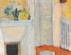Pierre Bonnard Flowers On A Fireplace Canvas Print 16 x 20     #4163