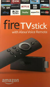 Amazon Fire TV Stick 2nd Generation with Alexa Voice and Remote SEALED NEW