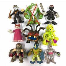 Lot 8pcs Toy TMNT Teenage Mutant Ninja Turtles Half-Shell Heroes Figure Boy Doll