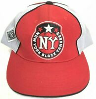 EUC BB Headgear New York Black Yankees Red Gray Black Fitted Hat Size 7 3/4