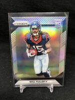 2016 Panini Prizm Will Fuller V Rookie Silver  #268 HOUSTON TEXANS ROOKIE B23
