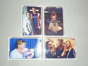 PERSONALISED FRIDGE MAGNETS.  YOUR PHOTO/TEXT. 70mm x 45mm. BESPOKE VALUE