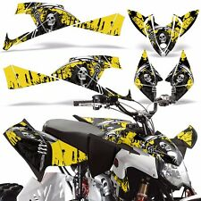 Decal Graphics Kit Polaris Outlaw 450/525 ATV Quad Wrap Parts Deco 09-12 REAP Y