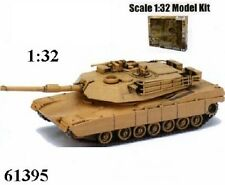 New  Ray  1/32 M1A1 Abrams Tank Plastic Kit NRY61395