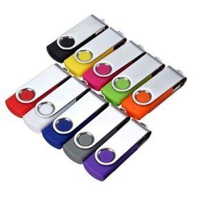 USB 2.0 Memory Stick Flash Pen Thumb Key High Speed 16GB 32GB 64GB 128GB Lot