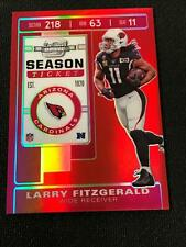 2019 Contenders Optic LARRY FITZGERALD Season Ticket 188/199 Red Arizona *MR14