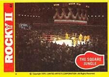 1979 Topps Rocky II #42 The Square Jungle   Balboa VS Creed