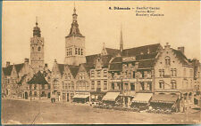 German Postcard - Diksmude  early 1900's Sepia - unposted