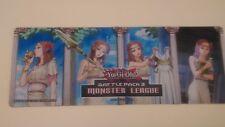YuGiOh ~ Battle Pack 3 Monster League Forbidden Spells Half Playmat