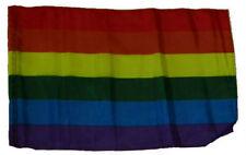"12x18 12""x18"" Rainbow Gay Pride Sleeve Flag Boat Car Garden"