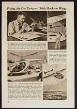 Stout Aerocar Flying Car Automobile 1943 pictorial