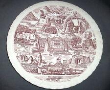 Vernon Kilns Souvenir Collector State Plate: ARIZONA: Red: EXC: NR