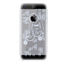 LED Blitz Strobo Cover schwarz iPhone 5 / 5s - Hülle Case Hardcase Handy Schale