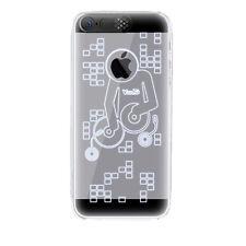 LED Blitz Strobo Cover Farbe Gold für iPhone 5/s Hülle Case Hardcase Handy
