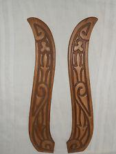 Pair of wood carvings, nice design