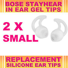 2x Silicone Replacement Small Ear Gel Tips for Bose StayHear Earphone Headphone
