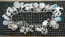 """Stamped"" All kind of Pendants Handmade Phero Richy Egyptian Silver Anklet"