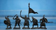 Plastic Toy Soldiers Crusaders Knights vs Saracens Saracens set 132 New