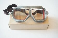 Genuine Red Army Soviet Russian aviation pilot goggles glasses WW2 model,1970s