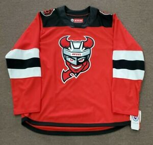 Binghamton Devils AHL CCM Red Road Jersey Replica Adult 2X-Large - New With Tags