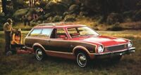 1976 FORD PINTO Brochure / Pamphlet : RUNABOUT,Station WAGON,SEDAN,